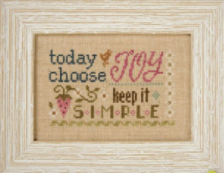 Lizzie*Kate Flip-It F151 3 Little Works ~ Today Choose Joy