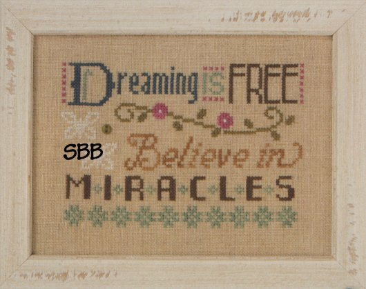 Lizzie*Kate F153 3 Little Works ~ Dreaming Is Free