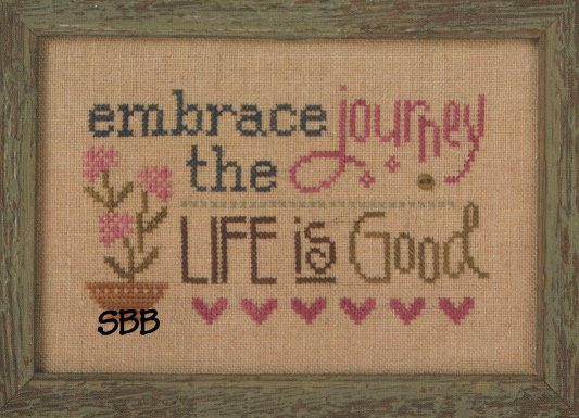 Lizzie*Kate F154 3 Little Works ~ Embrace The Journey
