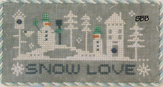 Lizzie*Kate F157 Snow Love