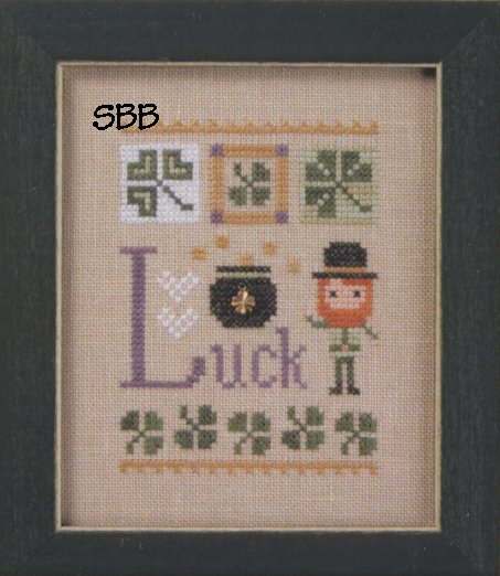 Lizzie*Kate Flip-It F165 Celebrate Flip ~ Luck