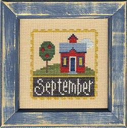 Lizzie*Kate Flip-It F42 September Flip-It Stamp