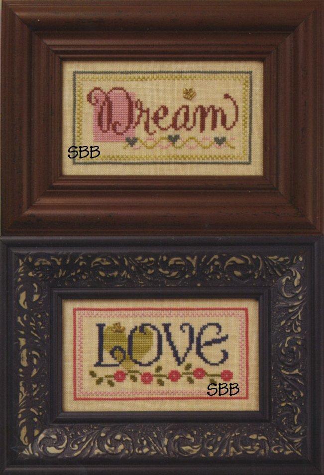Lizzie*Kate Flip-ItF70 Dream/Love Double Flip