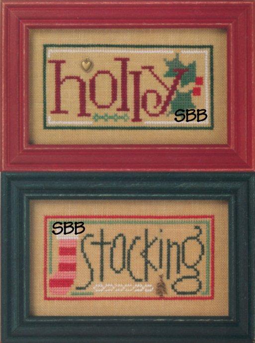 Lizzie*KateF76 Holly/Stocking Double Flip