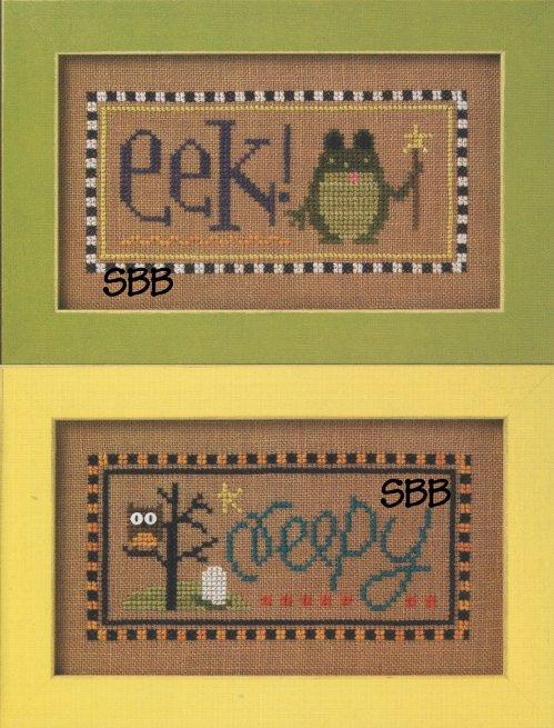 Lizzie*Kate Flip-ItF84 Eek/Creepy Halloween Double Flip