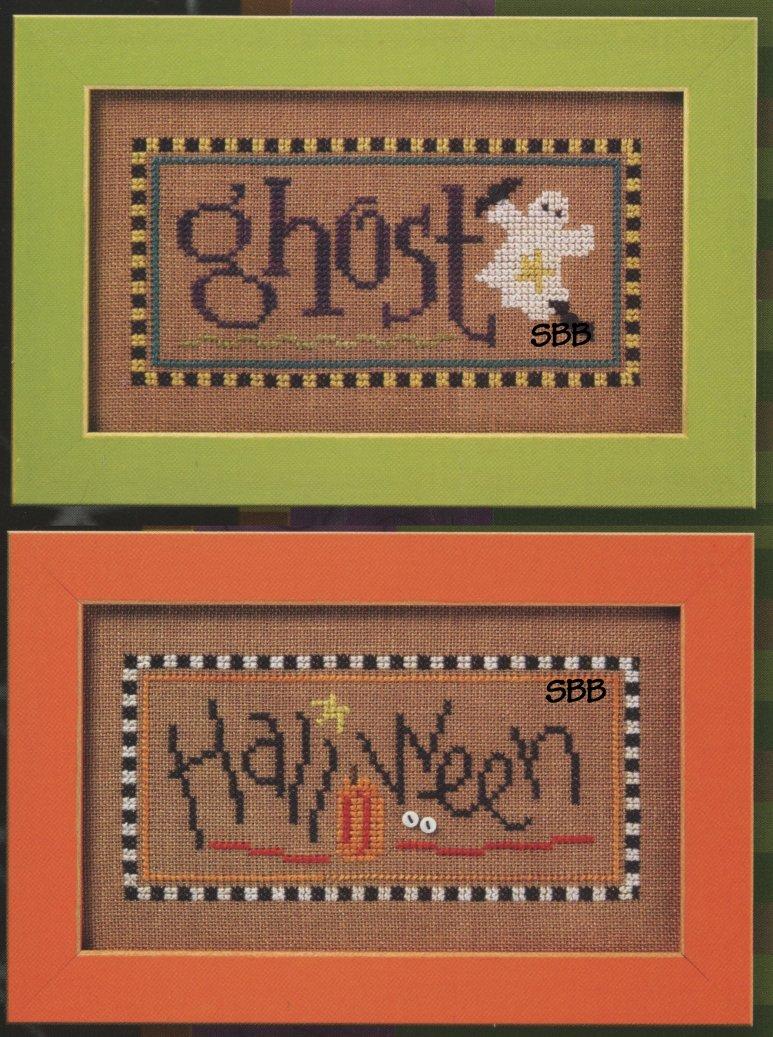 Lizzie*Kate Flip-ItF87 Ghost/Halloween Halloween Double Flip