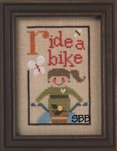 Lizzie*KateF93 Green Flip-It Ride a Bike