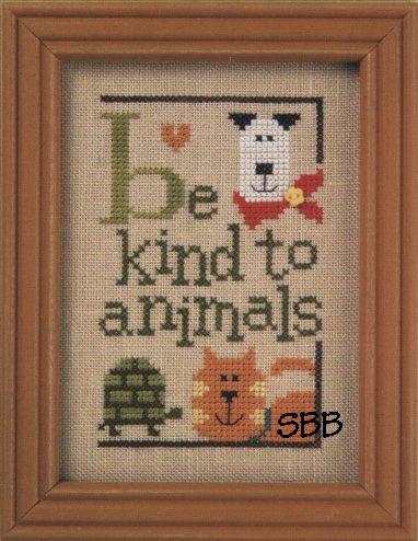 Lizzie*Kate Flip-ItF94 Green Flip-It Be Kind to Animals