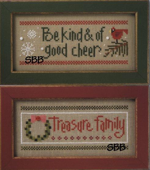 Lizzie*Kate Flip-ItBe Kind / Treasure Family