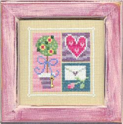 Lizzie*Kate Flip-It February Blocks Flip-It