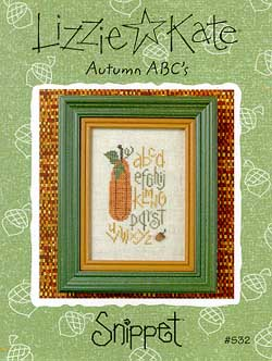 Lizzie*Kate Snippet 32 Autumn ABC's