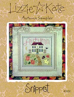 Lizzie*Kate Snippet 22 Autumn Sampler