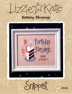 Lizzie*Kate Snippet 26 Birthday Blessings