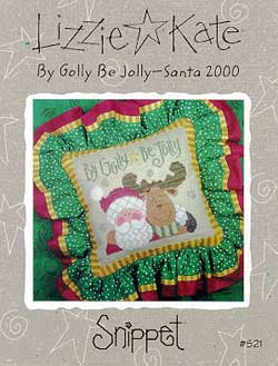 Lizzie*Kate Snippet 21 By Golly Be Jolly - Santa 2000