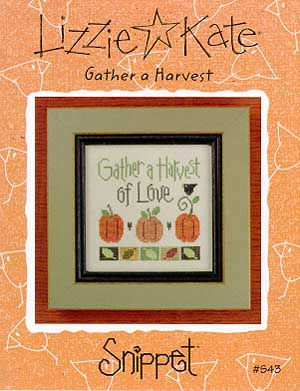 Lizzie*Kate Snippet 43 Gather a Harvest