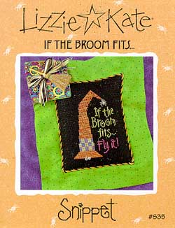 Lizzie*Kate Snippet 35 If the Broom Fits