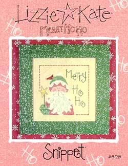 Lizzie*Kate Snippet 08 Merry Ho Ho - Santa 1999
