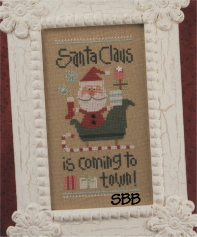 Lizzie*Kate Snippets S100 Coming to Town ~ 2011 Santa