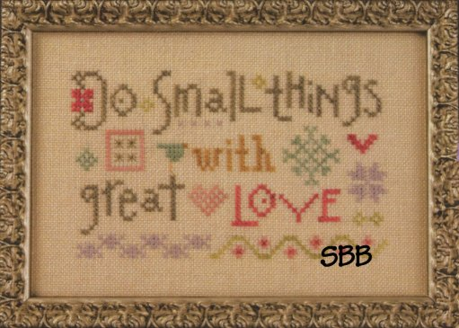 Lizzie*Kate Snippets S119 Flora McSample ~ Do Small Things With Great Love