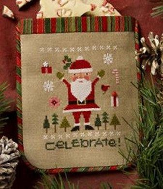 Lizzie*Kate Snippets S122 Celebrate ~ Santa 2015