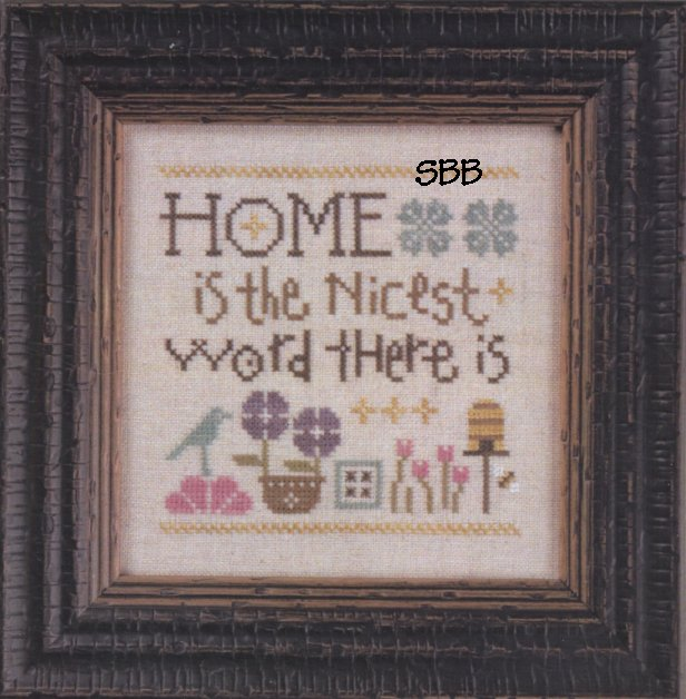 Lizzie*Kate Snippets S131 Home is the Nicest Word There Is