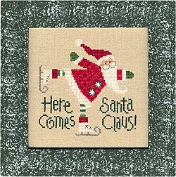 Lizzie*Kate Snippets 60 Santa 05 - Here Comes Santa