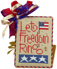 Lizzie*Kate Snippets 64 Let Freedom Ring