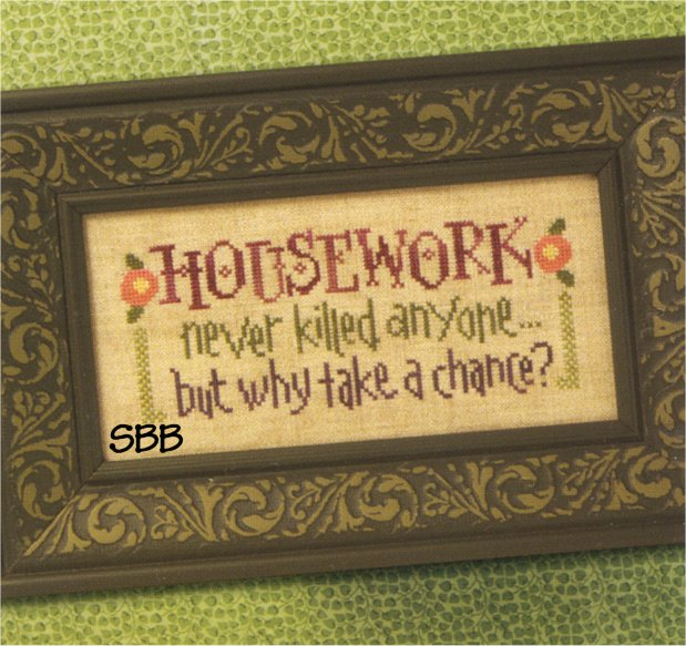 Lizzie*Kate Snippets S81 Housework Never Killed Anyone