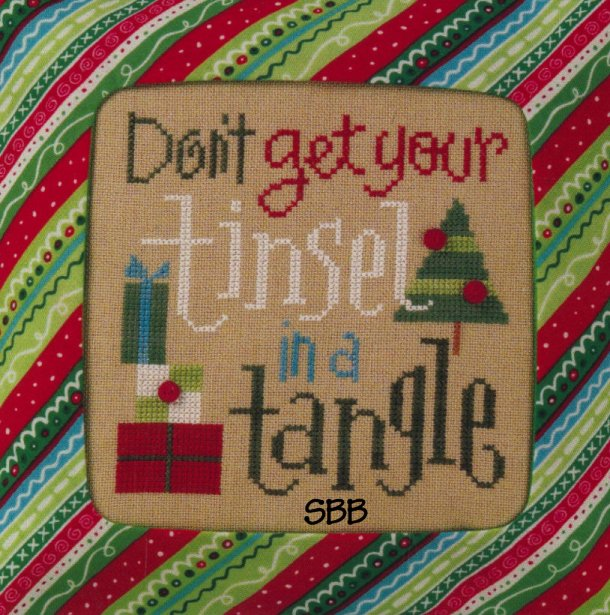 Lizzie*Kate Snippets S84 Don't Get Your Tinsel In A Tangle