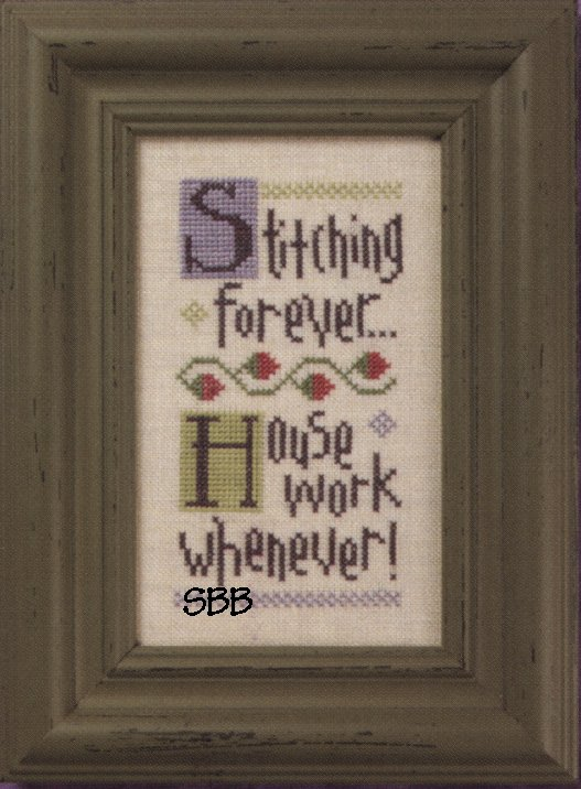 Lizzie*Kate Snippets S88 Stitching Forever