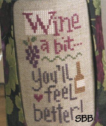 Lizzie*Kate Snippets S99 Wine A Bit