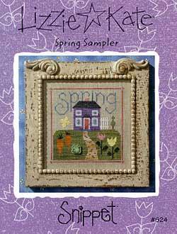 Lizzie*Kate Snippet 24 Spring Sampler