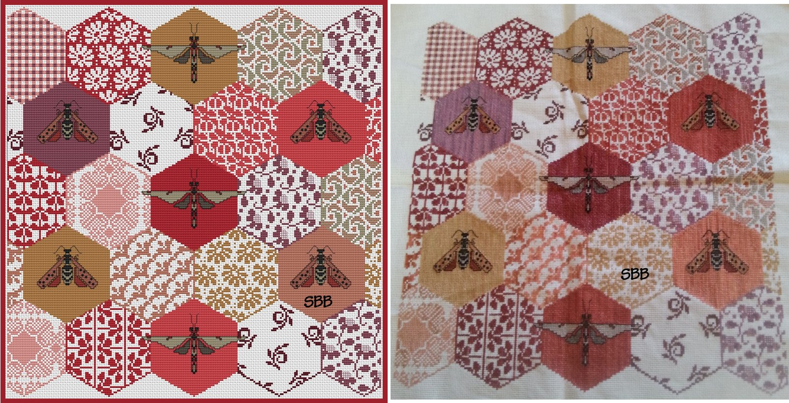 Long Dog Samplers The Quilted Bees