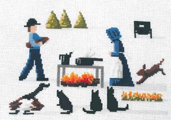 Lynn's Prints Around The Campfire