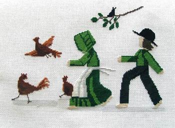 Lynn's Prints Chicken Chasin'
