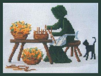 Lynn's Prints The Basket Maker
