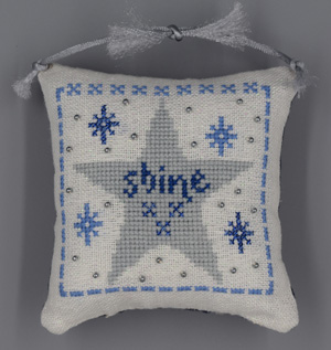 Misty Hill Studio Blue & Silver Christmas ~ Shine