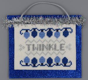 Misty Hill Studio Blue & Silver Christmas ~ Twinkle