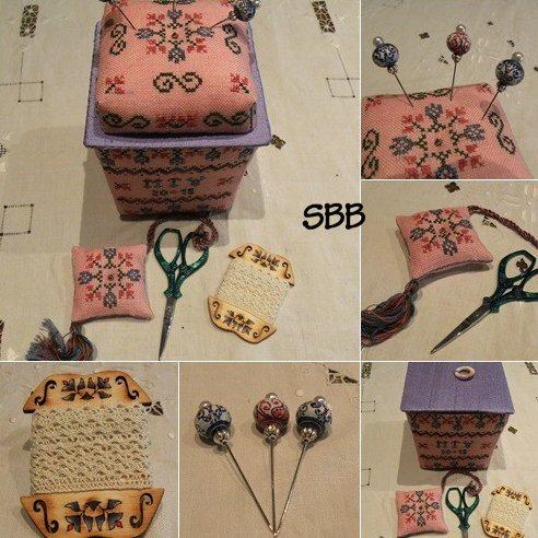 MTV Designs A Little Spring Sewing Basket