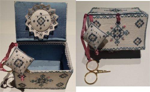 MTV Designs Luxury Sewing Box