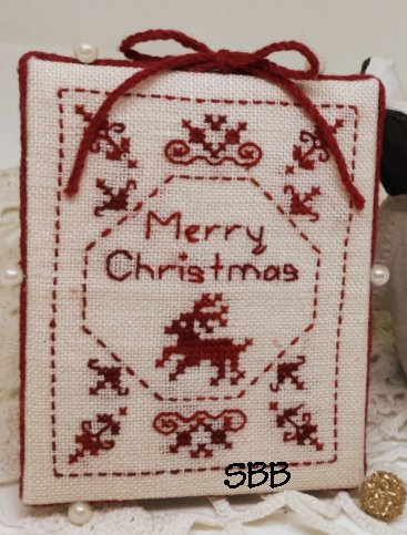 MTV Designs Merry Christmas Pinkeep