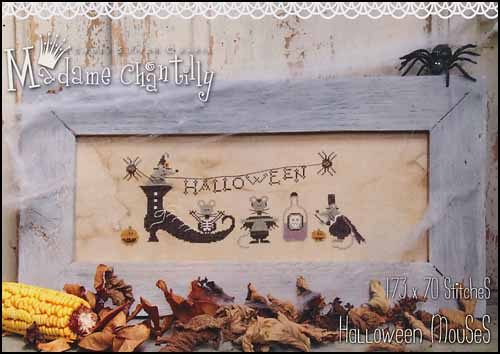 Madame Chantilly Halloween Mouses