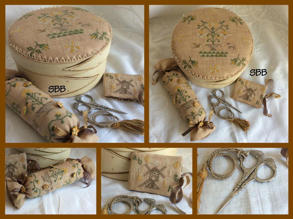 Mani di Donna Ancient Flowers Quaker Box & Accessories