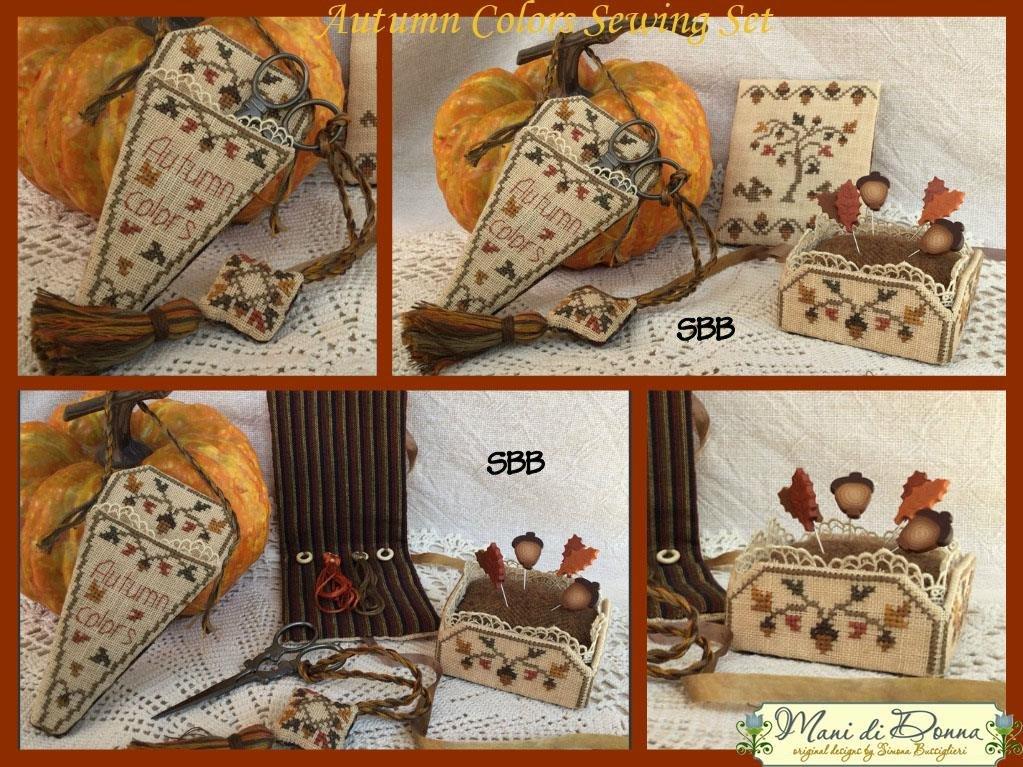 Mani di Donna Autumn Colors Sewing Set