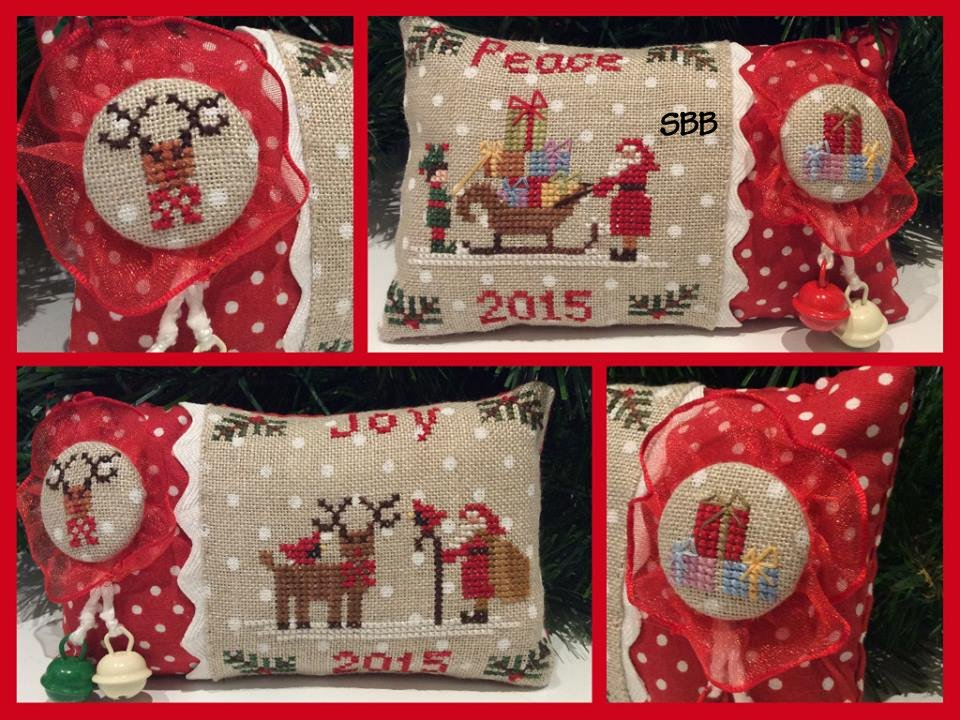 Mani di Donna Christmas 2015 Ornaments Joy & Peace