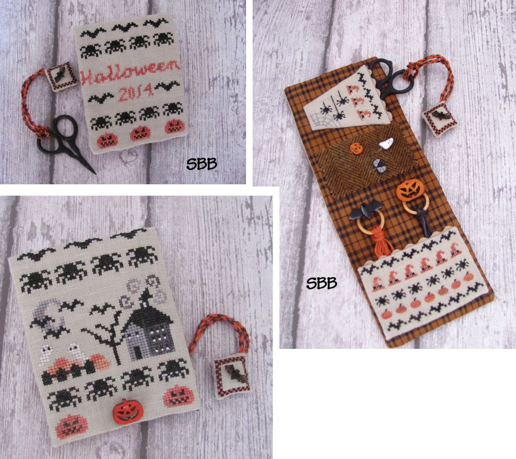 Mani Di Donna Halloween Midnight Sewing Set With Button & Rings