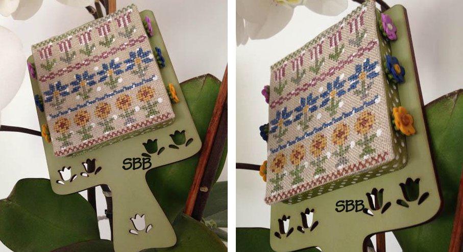 Mani di Donna Hornbook Series #1 ~ Flowers With Wooden Hornbook