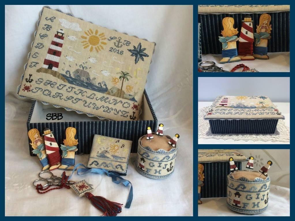 Mani di Donna Mermaid's Song Sewing Box