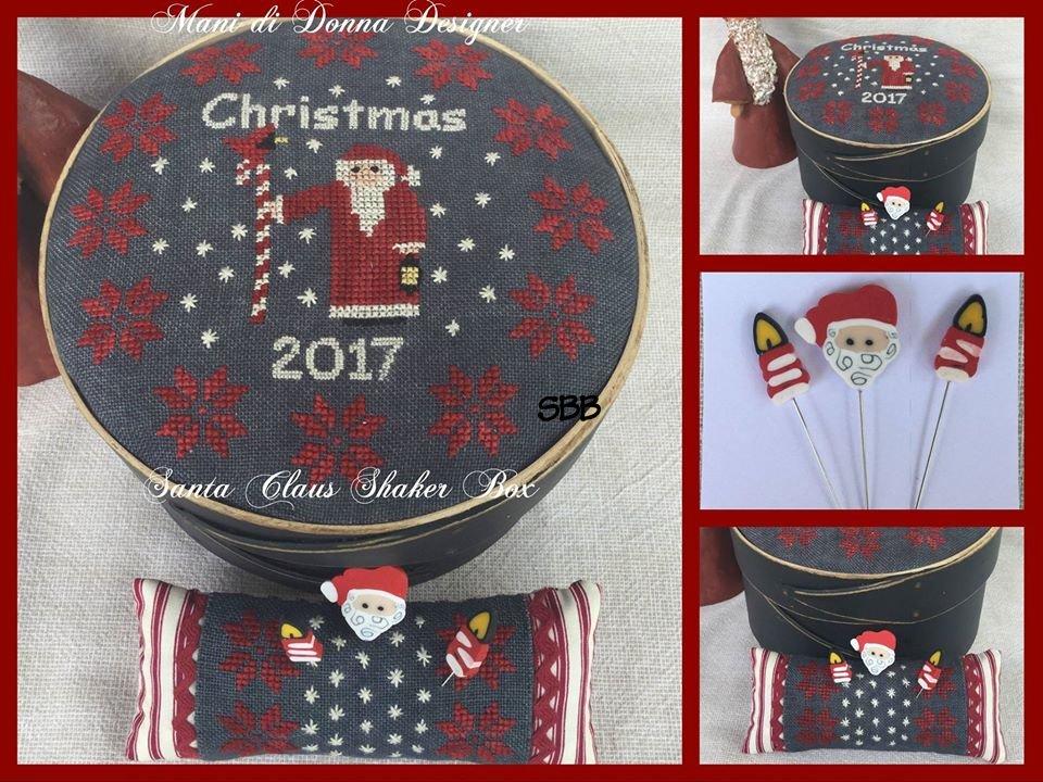 Mani di Donna Santa Claus Shaker Box