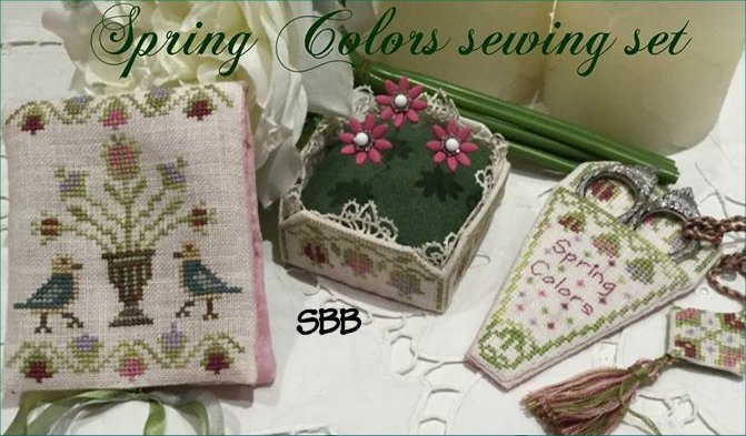 Mani di Donna Spring Colors Sewing Set